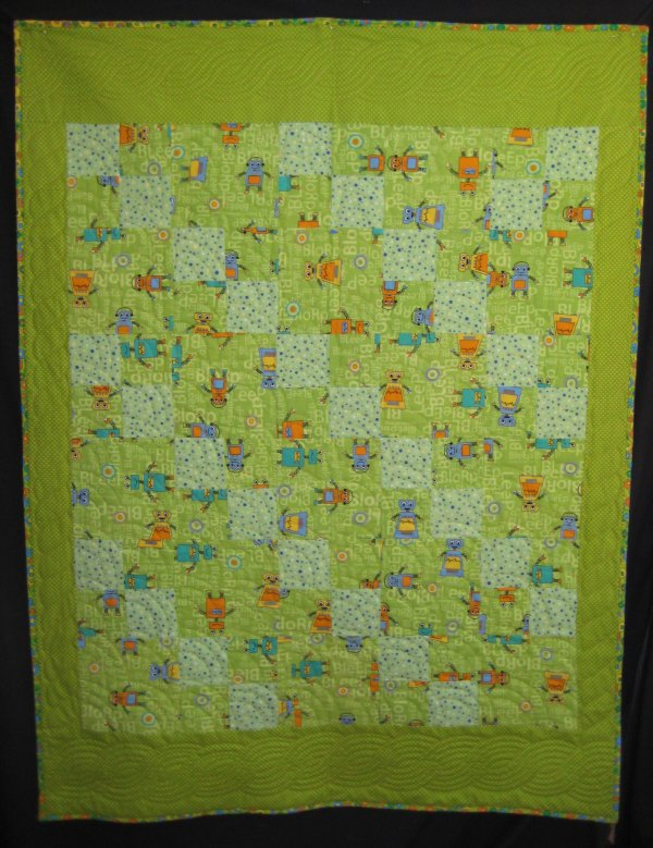 The dread pirate rodgers web page for Robot quilt fabric